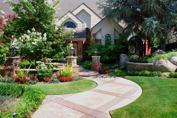 landscaping design - in construction