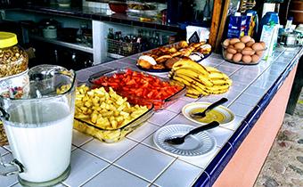 La Duna Ecology Center La Paz Baja California Sur kitchen