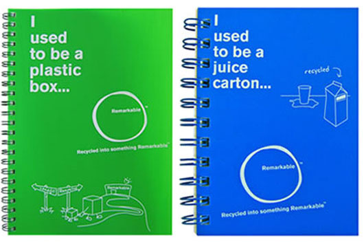 recycled notebooks 10 Creative Ways to Recycle Ordinary Objects