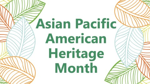 AAPI heritage month banner