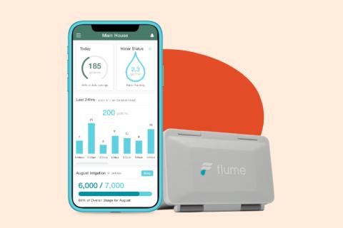 Flume Smart Home Water Meter