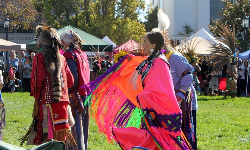 Photo depicting Indigenous Peoples' Day celebration in Berkeley