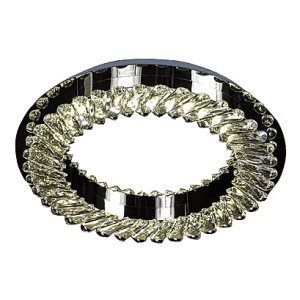 Flush Ring Crystal Chandelier