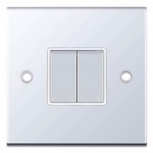 Polished Chrome Light Switch