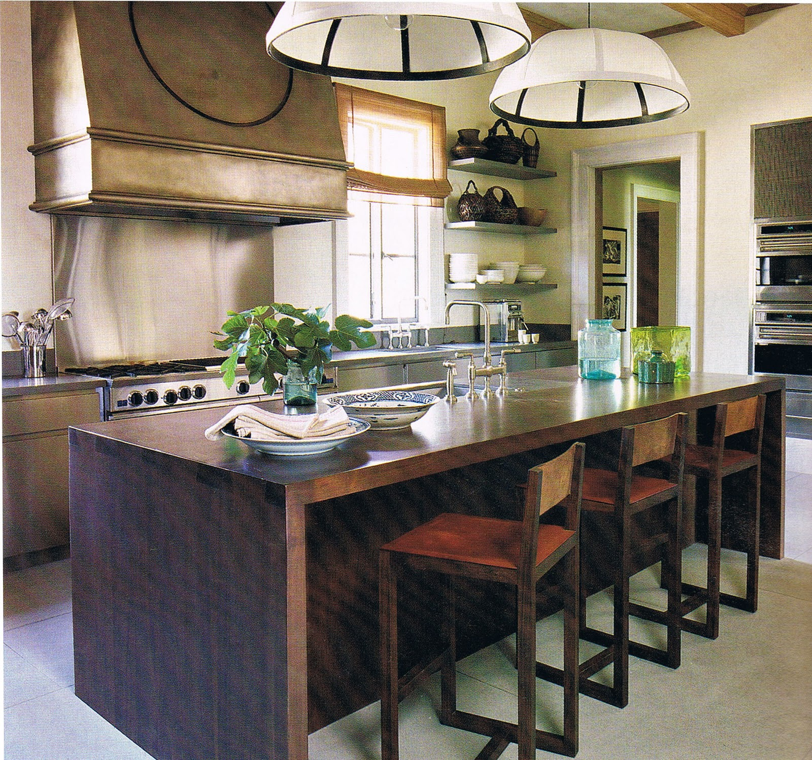 creative kitchen islands  ecocentricdesign