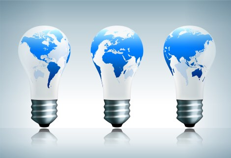 Light Bulbs Earth