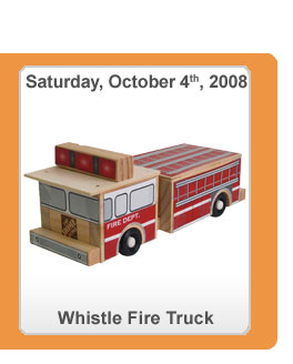 Home Depot Fire Truck