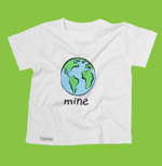 children\'s organic cotton planet shirt