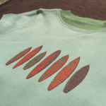 organic cotton surfboard kids shirt