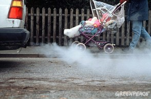 car pollution is bad for babies