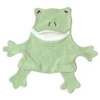 Under the Nile fair trade, organic cotton frog wash cloth