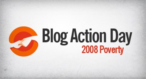 blog action day on poverty