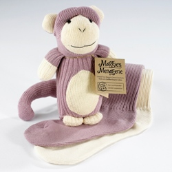 Maggies organic sock monkey