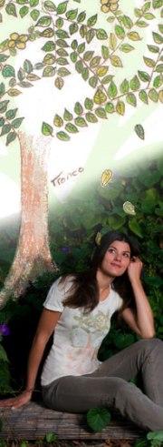 organic fair trade Andira Rain Tee collection