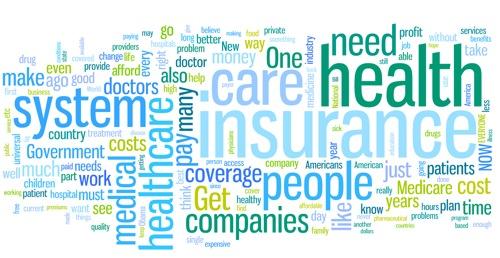 Healthcare word cloud