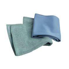 E-cloth microfiber cleans your whole house with only water!