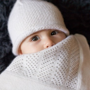 Wrap baby in super soft cashmere!