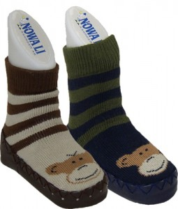 New monkey moccasins from Nowali