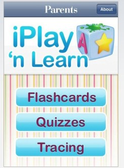 iPlay n\' Learn iPhone app