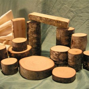 Natural Pod Tree Branch Blocks