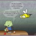 Hank D and the Bee: Cold Turkey