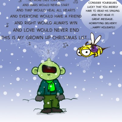 Hank D and the Bee: Happy Holidays!