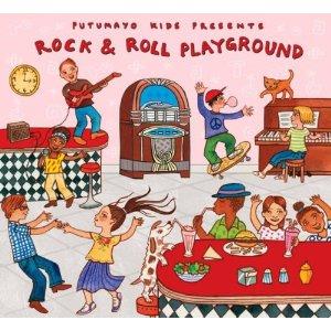 5 Green Products: Rock & Roll Playground, Organic Bamboo Baby Towel, Organic Tie Dye Chicken, Heart of Haiti, School Garden