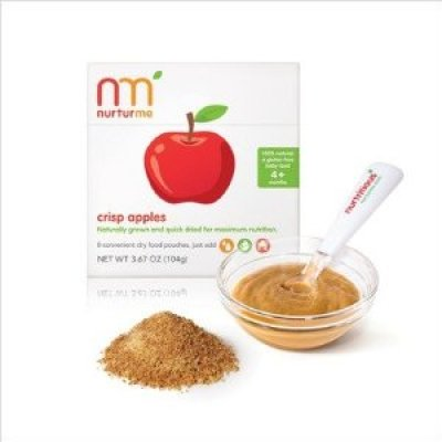 Organic Baby:  NurturMe Dried Organic Baby Food in a Convenient Pouch