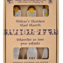 Plastic-Free Gifts:  Children's Stainless Steel Utensils