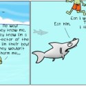Hank D and the Bee: Sharks Only Eat Certain Kinds of People?