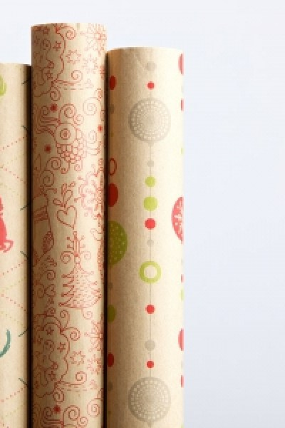 Green Gift Giving:  Eco-Friendly 100% Recycled Wrapping Paper