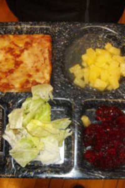 School Lunches Get Healthier, But Pizza is Still A Vegetable