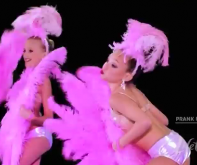 "WTF? Dance Moms:  8-Year-Old ""Topless"" Showgirls"
