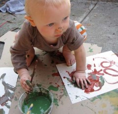 Celebrate the Earth:  Create Art Outdoors With Your Children