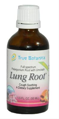 Anthroposophic Natural Health Care:  True Botanica Lung Root and Throat Defense