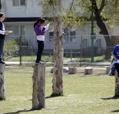 Canadian Playgrounds and Schools Bring Back Risk of Nature