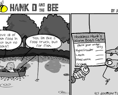Hank D and the Bee: Gone Fishin'