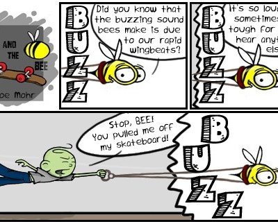 Hank D and the Bee: BUZZ!