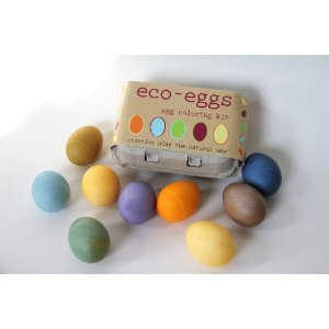 Natural Easter Egg Dyeing Made Easy:  Eco-Eggs Egg Coloring Kit