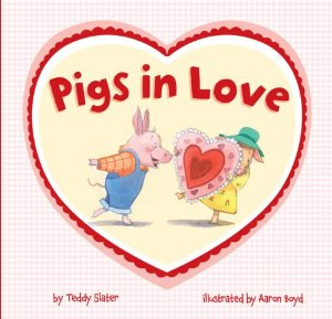Valentine's Day Children's Literature:  Pigs in Love
