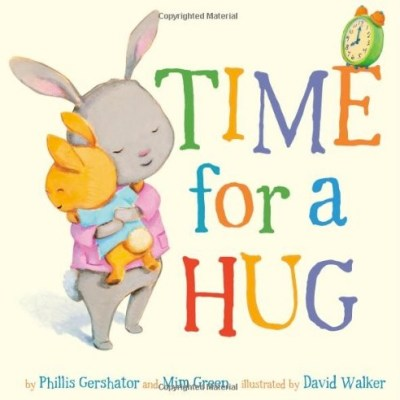 Children's literature:  Time for a Hug board book