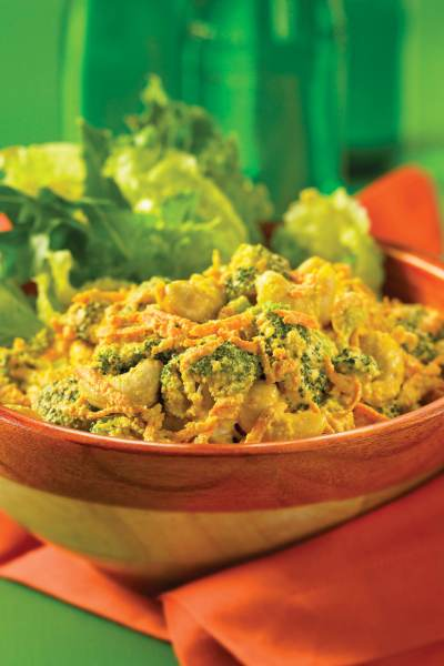 Curried Cashews and Mixed Vegetables
