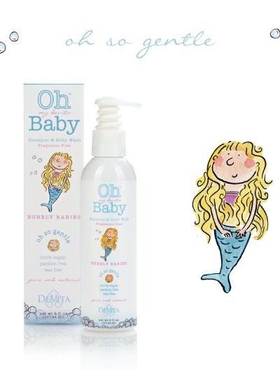 Organic Baby Care:  Oh My DeVita Baby Shampoo & Body Wash