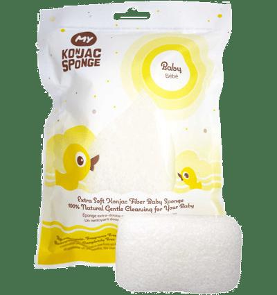 Eco Baby:  All Natural Konjac Fiber Baby Sponge