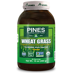 PINES Wheat Grass Powder is convenient, surprisingly economical way to make sure you eat green vegetables every day!