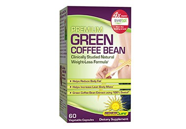 Clinically Proven Natural Weight Loss:  Svetol Green Coffee Bean with 50% Chlorogenic Acid