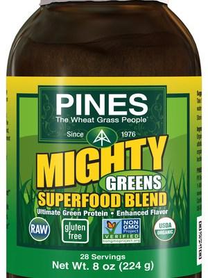Got Greens?  Pines Alfalfa and Might Greens Superfood Raw, Gluten-Free, Organic