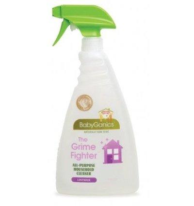 Naturally Safe, Non-Toxic Cleaning:  BabyGanics