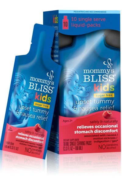 Kids Upset Tummy and Nausea Relief from Mommys Bliss