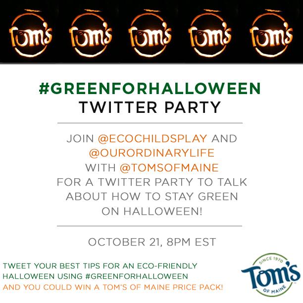 #GreenforHalloween Invite